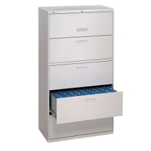 """500 Series 36""""W Five Drawer Lateral File, 30708"""
