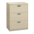 "600 Series Heavy-Duty Three Drawer 30""W Lateral File, 30712"