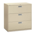 "600 Series Heavy-Duty Three Drawer Lateral File 42""W, 30716"