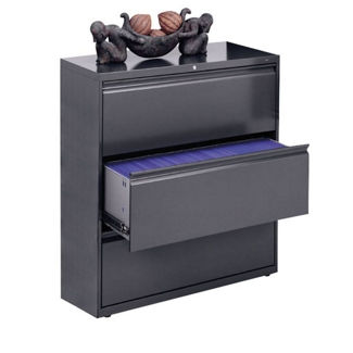 """800 Series Three Drawer Lateral File 42""""W, 30719"""