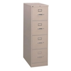 "Four Drawer Letter Size Vertical File - 28-1/2""D, 34014"