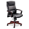 HON Park Avenue Executive Leather Chair, 50635