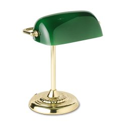 Bankers Lamp 90927 and more Office Accessories Desktop Accessories from office-accessories.nationalbusinessfurniture.com