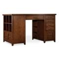 "Two Pedestal Partner Desk - 62""W x 36""D x 37""H, 13545"