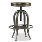 Adjustable Height Wood Top Stool, 50989