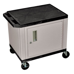 """26"""" H Utility Cart with Cabinet, 43194"""