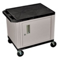 "26"" H Utility Cart with Cabinet, 43194"