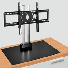 """Adjustable Height Table Top Flat Panel Mount - 20"""" H, 43245"""