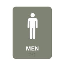 """Mens Restroom Sign - 6""""W x 8""""H, 25668"""