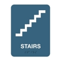 "Stairs Sign - 6""W x 8""H, 25671"