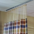 "Striped Print Privacy Curtain - 102""W x 86""H, 25686"