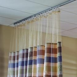 "Striped Print Privacy Curtain- 210""W x 86""H , 25828"