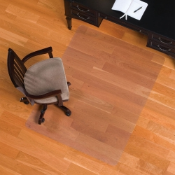 """Standard 36"""" x 48"""" Chair Mat for Hard Floors, 54080"""