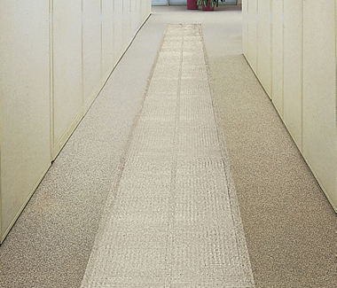 Ribbed Clear Vinyl Runner 4' x 60', 54198
