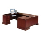 Spacesaver U Desk with Left Return, 10372