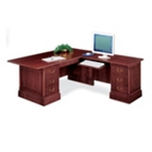 Traditional L Desk with Right Return, 10690