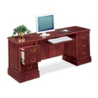 "Traditional Kneehole Credenza 72"" x 20"", 10693"