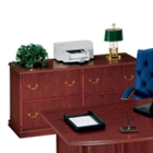 Traditional Four Drawer Lateral File, 10694