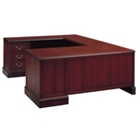 Executive U Desk with Left Return, 10896