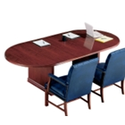 "Traditional Oval Conference Table - 96"" x 48"", 40332"