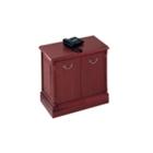 Traditional Two Door Storage Cabinet, 40339