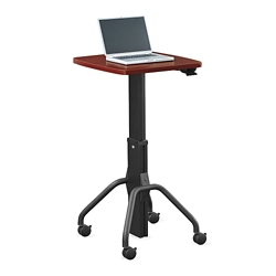 "Adjustable Height Gas Lift Table - 24""W, 41418"