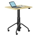 """Adjustable Height Gas Lift Table - 36""""W, 41419"""