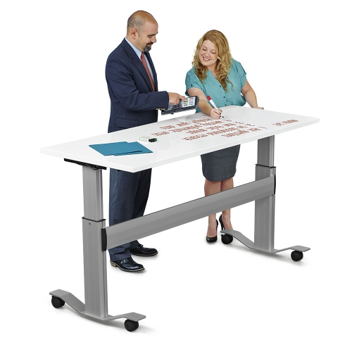 standing desks and tables