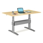 "Electric Adjustable Standing Height Table - 84""W x 36""D, 41578"