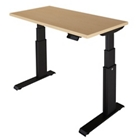 """Standing-Height Desk with Electric Height Adjustment 48""""W x 24""""D, 41489"""