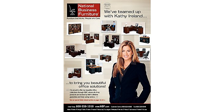 Model Furniture: NBF teams up with Kathy Ireland | NBF Blog