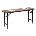"72"" x 18"" Folding Training Table, 41411"