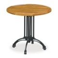 "32"" Round Outdoor Teak Table, 41445"
