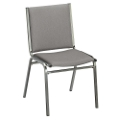 """Armless Stack Chair 1"""" Fabric Seat, 51227"""