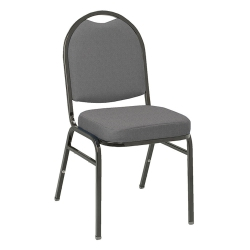 "Round Back Fabric Stack Chair with 2"" Seat, 51299"