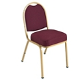 Stack Chair with Designer Fabrics and Frames, 51300