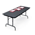 "36"" x 96"" Adjustable Height Folding Table, 41321"