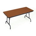 "Heavy-Duty 24"" x 72"" Folding Table, 41335"