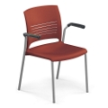 Strive Stack Chair with Arms, 51290