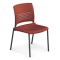 Armless Poly Stack Chair, 51578