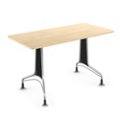 """36"""" x 30"""" Rectangular Table with Perforated End Panels, 44583"""