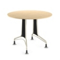 "30"" Round Table with Perforated End Panels, 44579"