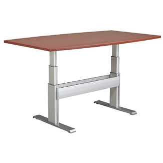 "Meridian Adjustable Height Conference Table - 84""W x 42""D, 46112"