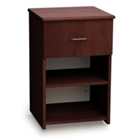 Arcadia Bedside Cabinet with Drawer and Shelf, 25341