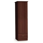 Arcadia Left-Hinged Wardrobe Cabinet with Drawer, 25349