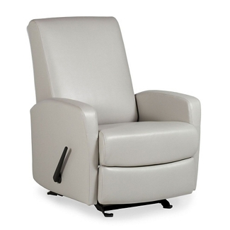 Glider Vinyl Recliner with Smooth Back, 25792