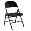 Triple U Brace Steel Folding Chair, 51484