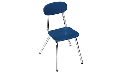 "Adjustable Height School Chair 12"" - 16"" High, 57169"