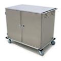 28 Tray Room Service Double Door Delivery Cart, 25305