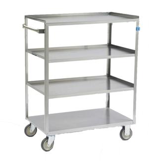 """37""""W 500lb Weight Capacity Linen Cart, 25562"""